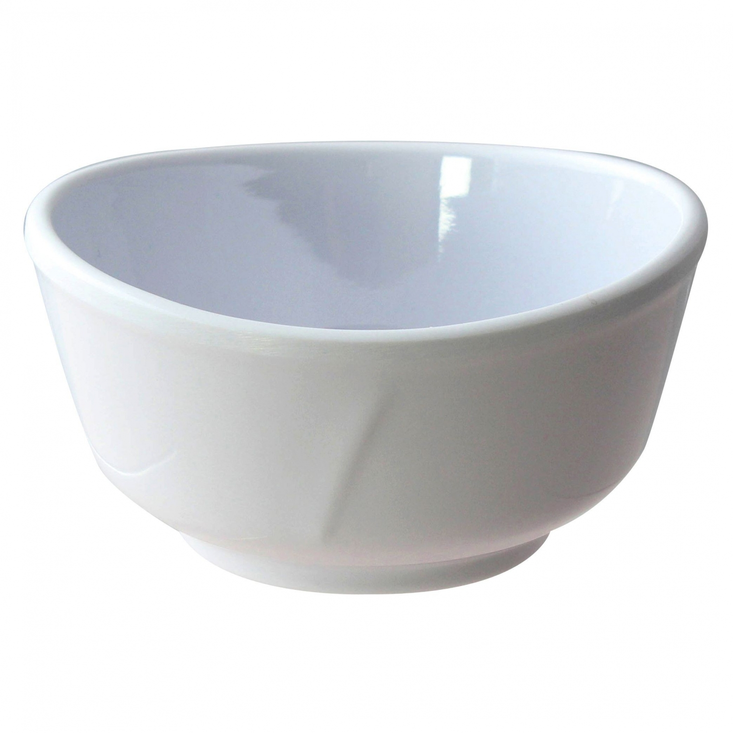 Thunder Group 39045WT Round Classic White Series Bowl 11 oz. - 1 doz