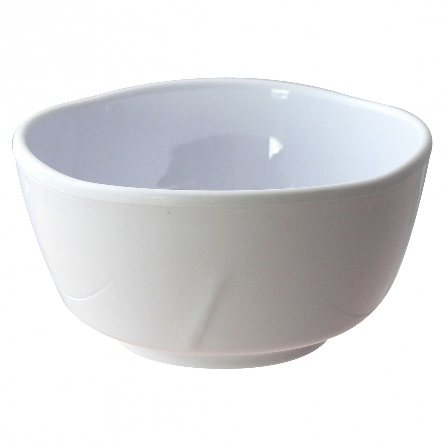Thunder Group 39050WT Round Classic White Series Bowl 16 oz. - 1 doz