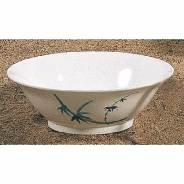 Thunder Group 5008BB Blue Bamboo Melamine Soba Bowl 35 oz.