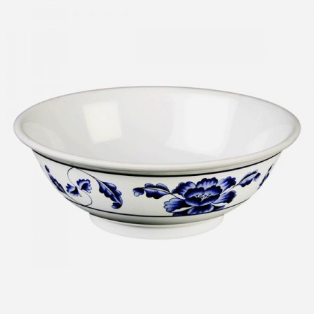 Thunder Group 5075TB Lotus Melamine Rimless Bowl 52 oz.