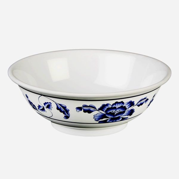 Thunder Group 5095TB Lotus Melamine Rimless Bowl 96 oz.