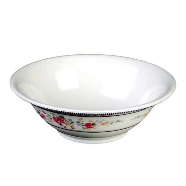 Thunder Group 5108AR Rose Melamine Deep Bowl 34 oz