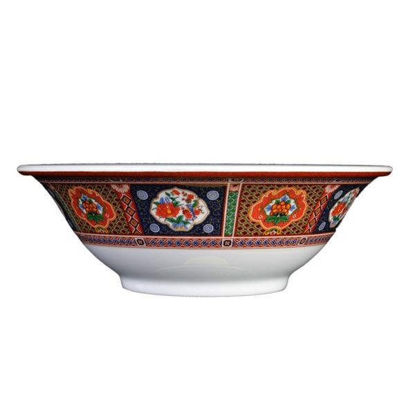 Thunder Group 5108TP Peacock Bowl 34 oz. - 1 doz