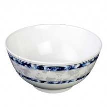 Thunder Group 5206DL Blue Dragon Melamine Rice Bowl 25 oz