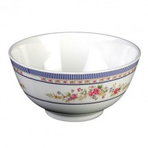 Thunder Group 5207AR Rose Melamine Rice Bowl 39 oz