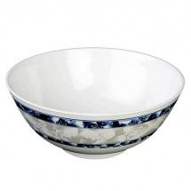 Thunder Group 5207DL Blue Dragon Melamine Rice Bowl 39 oz.
