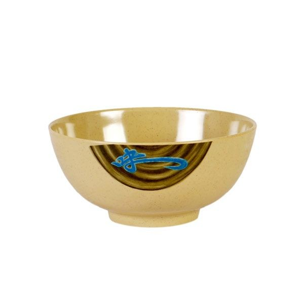 Thunder Group 5207J Wei Asian Melamine Noodle Bowl 39 oz.