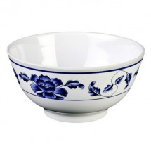 Thunder Group 5207TB Lotus Melamine Rice Bowl 39 oz.