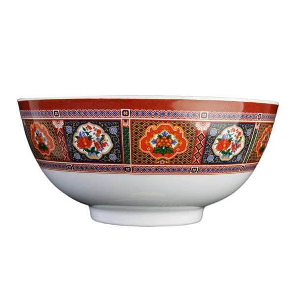Thunder Group 5207TP Peacock Melamine Rice Bowl 39 oz