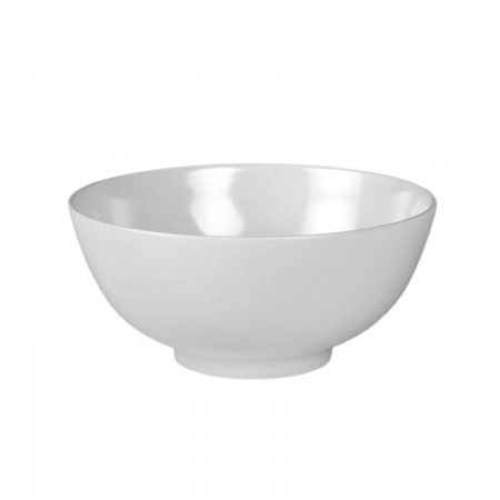 Thunder Group 5207TW Imperial White Melamine Rice Bowl 39 oz.