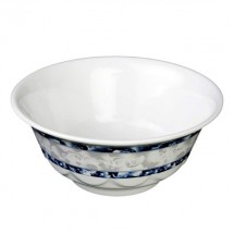 Thunder Group 5275DL Blue Dragon Melamine Scalloped Bowl 34 oz.
