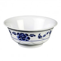 Thunder Group 5275TB Lotus Melamine Scalloped Bowl 34 oz.