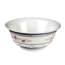 Thunder Group 5285AR Rose Melamine Scalloped Bowl 53 oz