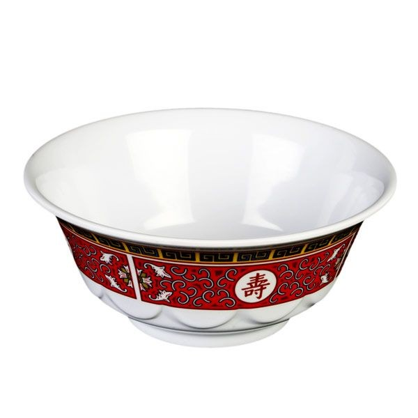Thunder Group 5285TR Longevity Melamine Scalloped Bowl 53 oz.