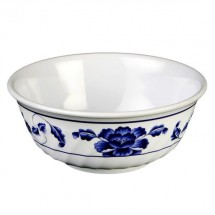 Thunder Group 5306TB Lotus Melamine Swirl Bowl 21 oz.