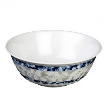 Thunder Group 5307DL Blue Dragon Melamine Swirl Bowl 32 oz.