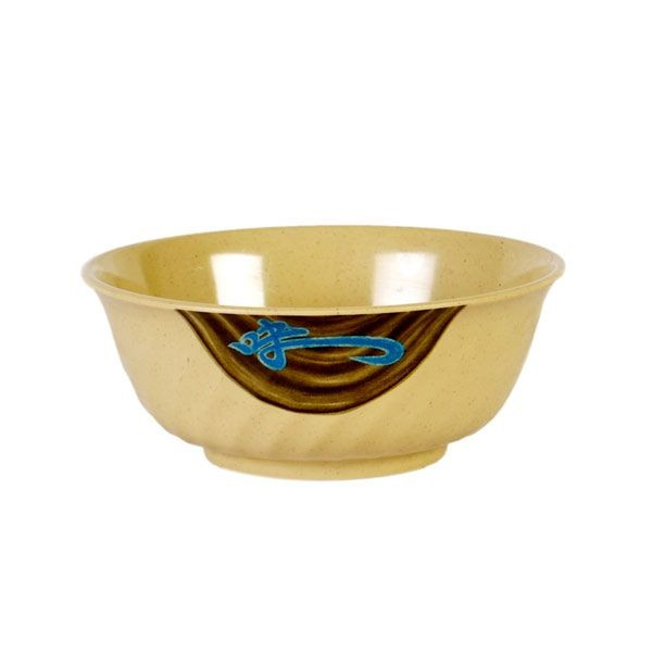 Thunder Group 5309J Wei Asian Melamine Swirl Bowl 72 oz.