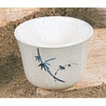 Thunder Group 9152BB Blue Bamboo Tea Cup 5 oz.