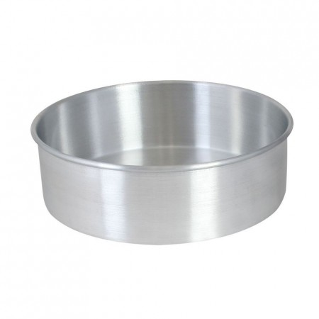 "Thunder Group ALCP0803 Layer Cake Pan 8"" x 3"" - 1/2 doz"