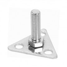 Thunder Group ALFP001 Foot Plate For Wire Shelving