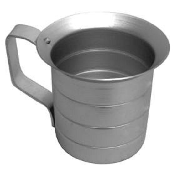 Thunder Group ALKAM040 Aluminum Liquid Measuring Cup 4 Qt.