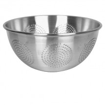 Thunder Group ALSKAC002 Heavy Duty Aluminum Colander 15 Qt.