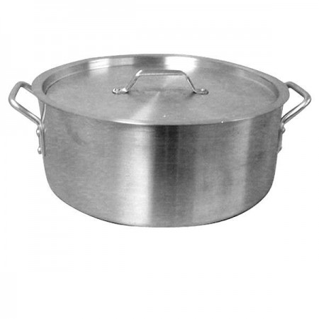 Thunder Group ALSKBP004 Brazier Pot With Lid 20 Qt.