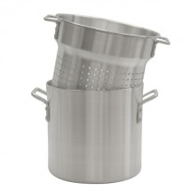 Thunder Group ALSKPC112 Aluminum Pasta Cooker Set 12 Qt.