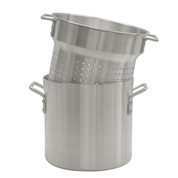 Thunder Group ALSKPC112 Aluminum Pasta Cooker 12 Qt.