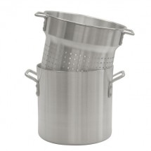 Thunder Group ALSKPC120 Aluminum Pasta Cooker Set 20 Qt.