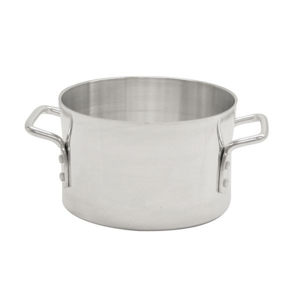 Thunder Group ALSKSU020 Aluminum Sauce Pot with Mirror Polish Finish 20 Qt.