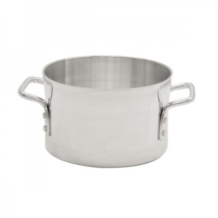 Thunder Group ALSKSU026 Aluminum Sauce Pot with Mirror Finish 26 Qt.