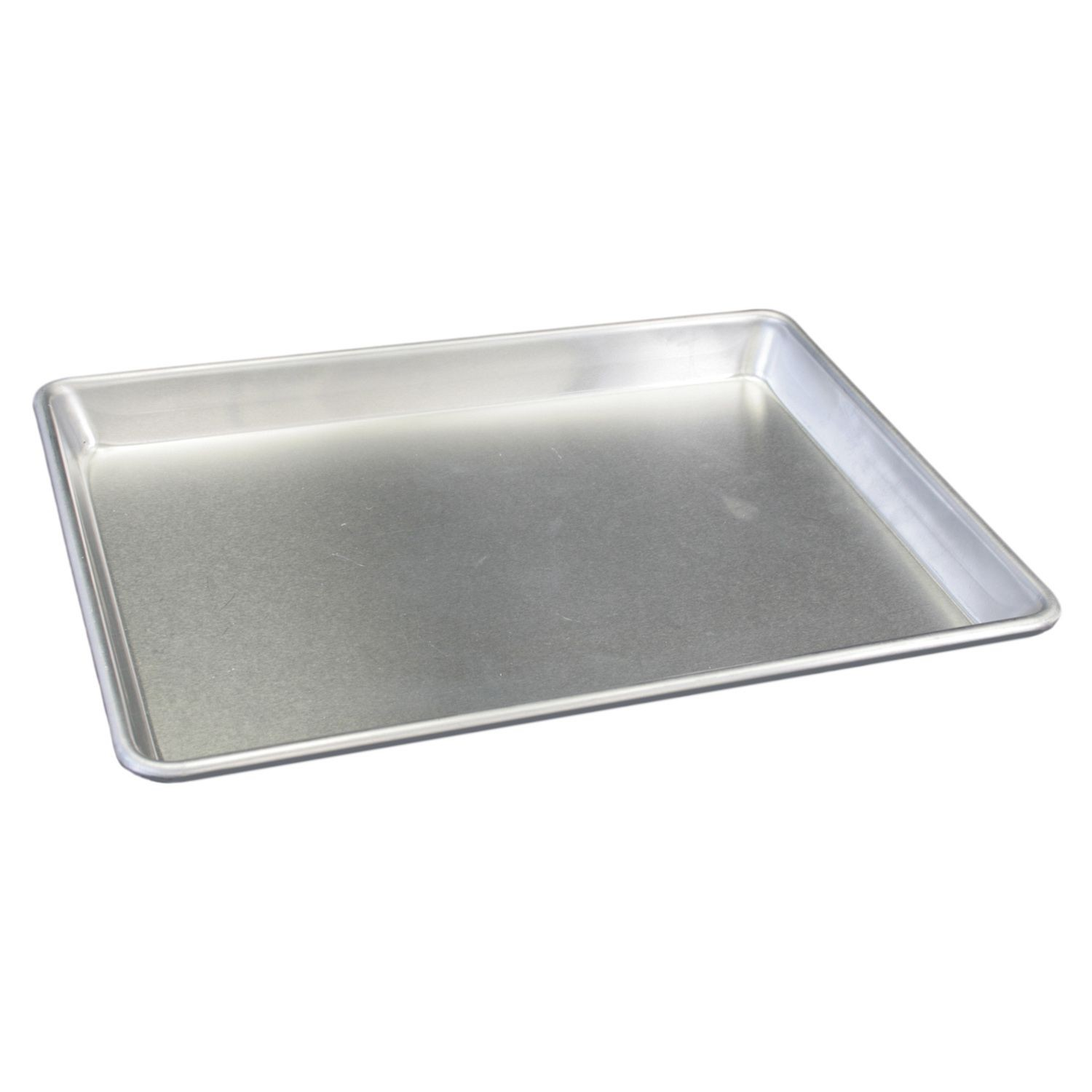 "Thunder Group ALSP1826H Full Size Aluminum Sheet Pan, 16 Gauge 18"" x 26"" - 1 doz"