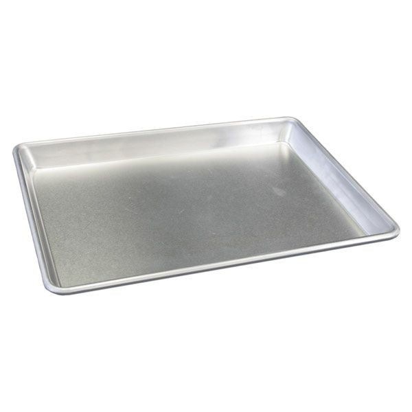 "Thunder Group ALSP1826S Full Size Aluminum Sheet Pan 18"" x 26"" - 1 doz"
