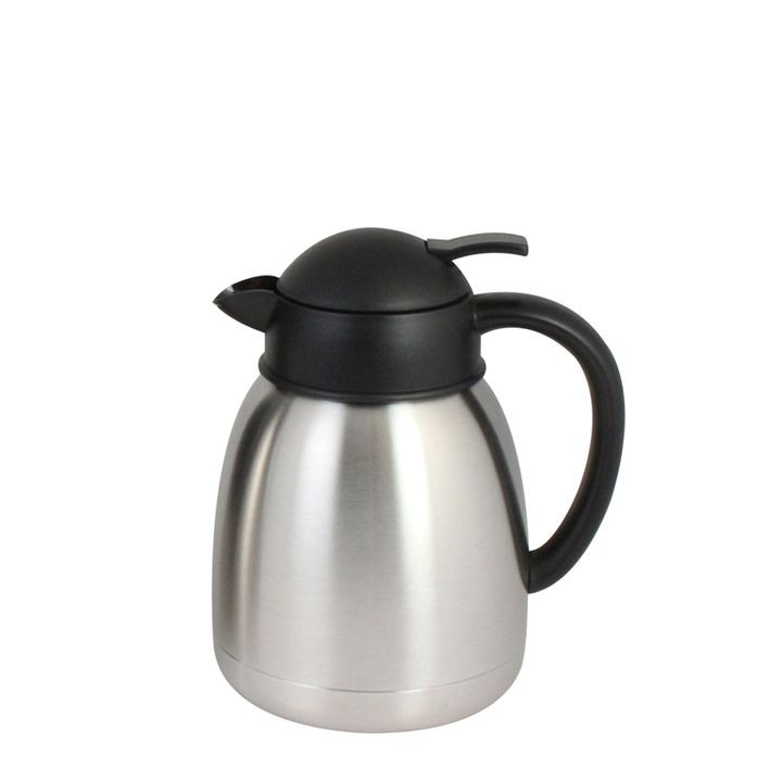 Thunder Group ASCS012 Stainless Steel Push Button Coffee Server 1.2 L.