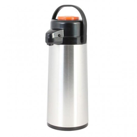 Thunder Group ASPG022D Glass Lined Airpot, Decaf 2.2 lt / 74 oz. - 1/2 doz