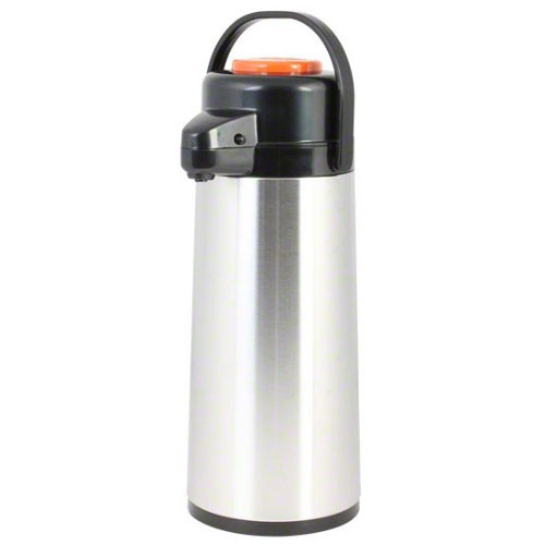 Thunder Group ASPG025D Glass Lined Airpot, Decaf 2.5 lt / 84 oz. - 1/2 doz