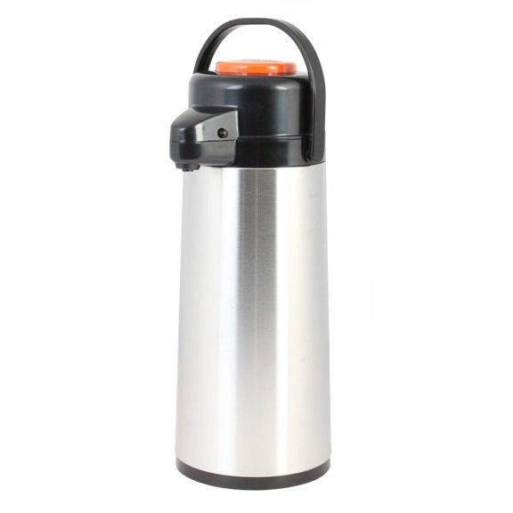 Thunder Group ASPG030D 3.0 lt / 101 oz  Glass Lined Airpot, Decaf - 1/2 doz