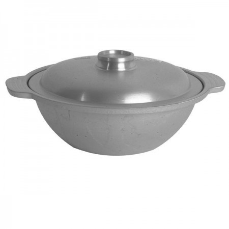 Thunder Group CETW001 Sam Bai Wok With Lid 6""