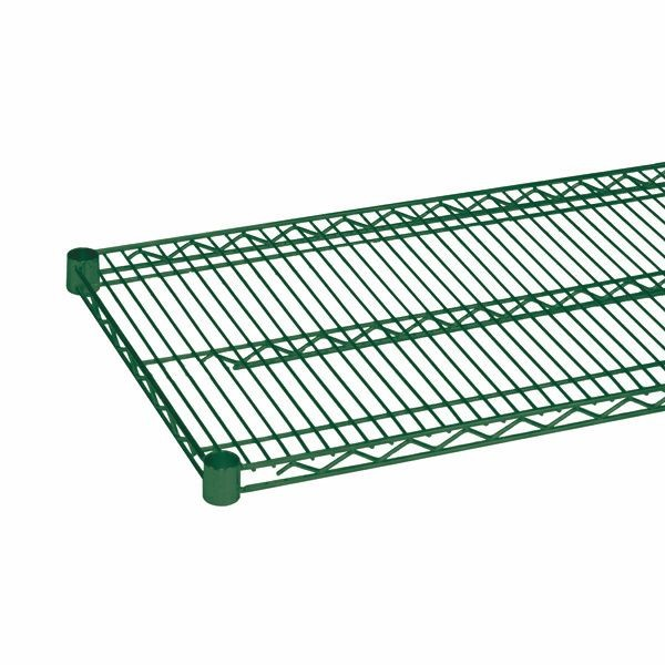 "Thunder Group CMEP2472 Epoxy Wire Shelving 24"" x 72"" - 2 pcs"