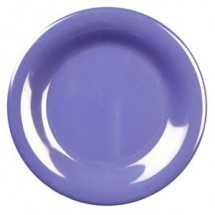 "Thunder Group CR010 Wide Rim Melamine Plate 10-1/2"" - 1 doz."