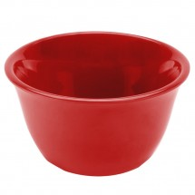 Thunder Group CR303PR Pure Red Melamine Bouillon Cup 7 oz. - 1 doz