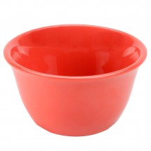 Thunder Group CR303RD Orange Melamine Bouillon Cup 7 oz. - 1 doz