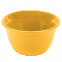 Thunder Group CR303YW Yellow Melamine Bouillon Cup 7 oz. - 1 doz