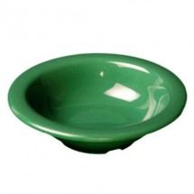 Thunder Group CR5044GR Green Melamine Salad Bowl 4 oz. - 1 doz