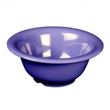 "Thunder Group CR5510BU Purple Melamine Soup Bowl 10 oz. , 5-1/2"" Dia  - 1 doz"