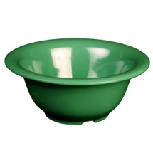 "Thunder Group CR5510GR Green Melamine Soup Bowl 10 oz., 5-1/2"" Dia - 1 doz"