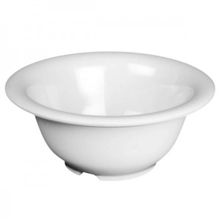 Thunder Group CR5510W White Melamine Soup Bowl 10 oz. - 1 doz.