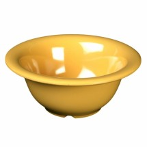 "Thunder Group CR5510YW Yellow Melamine Soup Bowl 10 oz., 5-1/2"" Dia.   - 1 doz"