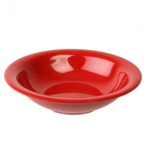 Thunder Group CR5608PR Pure Red Salad Bowl 8 oz. - 1 doz